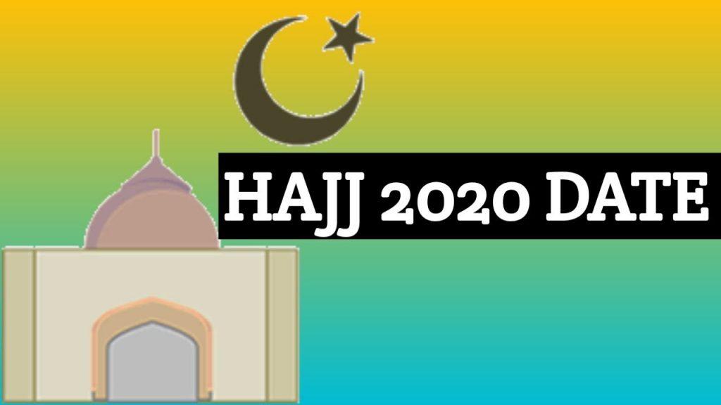 Hajj Date 2020